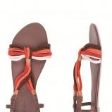 kolorowe sandały Clarks sznurowane - lato 2012