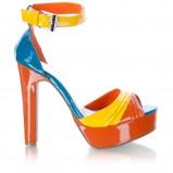 kolorowe sandały DeeZee fluo - wiosna/lato 2012