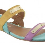 kolorowe sandały River Island - z kolekcji wiosna-lato 2012