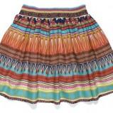 kolorowe spodnie C&A we wzorki - wiosna/lato 2012