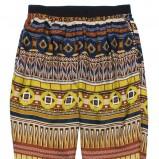 kolorowe spodnie C&A - z kolekcji wiosna-lato 2012