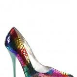 kolorowe szpilki Miss Me - wieczorowe obuwie
