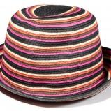 kolorowy kapelusz Reserved w paski - wiosna/lato 2012