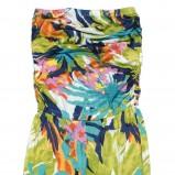 kolorowy kombinezon C&A w kwiaty - wiosna/lato 2012