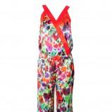 kolorowy kombinezon Stefanel - wiosenna kolekcja