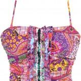 kolorowy strój kąpielowy She we wzory - z kolekcji wiosna-lato 2012