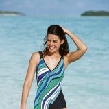 kolorowy strój kąpielowy Sunmarin - moda plażowa 2013