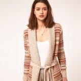 kolorowy sweter Asos we wzory - z kolekcji wiosna-lato 2012