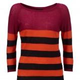kolorowy sweter InWear z dekoltem w łódkę - jesień-zima 2012/2013