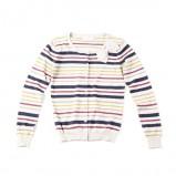 kolorowy sweter Springfield w paski - jesień-zima 2012/2013