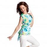 kolorowy top Quiosque we wzory - kolekcja wiosenno/letnia