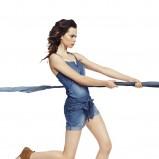 kombinezon Reserved dżinsowy - trendy 2012