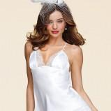 komplet bielizny Victorias Secret z koronką Miranda Kerr