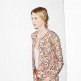 komplet Zara TRF we wzorki - wiosenny lookbook