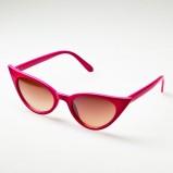 koralowe okulary przeciwsłoneczne Brylove - lato