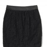 koronkowa spódniczka House w kolorze czarnym - moda sylwestrowa 2012