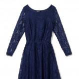 koronkowa sukienka House w kolorze granatowym - moda sylwestrowa 2012