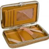 kosmetyczka SIX w kolorze złotym - świąteczne akcesoria