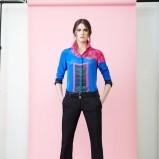 koszula Akris w kolorze niebieskim - lato 2014