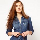 koszula Asos jeansowa  - trendy na jesień