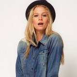 koszula Asos jeansowa  - trendy na zimę