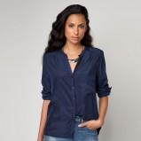 koszula Bershka w kolorze granatowym - moda damska