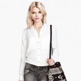 koszula H&M w kolorze białym - moda na jesień