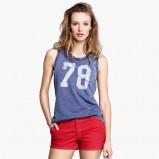 koszula H&M w kolorze niebieskim - lato 2013