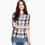 koszula H&M w kratkę - jesień 2013
