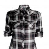 koszula H&M w kratkę - trendy na jesień-zimę