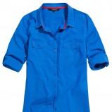 koszula Reserved w kolorze kobaltowym - trendy na wiosnę i lato 2013