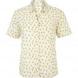 koszula River Island w kolorze ecru - moda na wiosnę i lato 2013