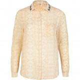 koszula River Island we wzorki w kolorze złotym - trendy 2013