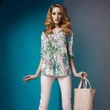 koszula Sesst w kwiaty  - trendy wiosenno-letnie