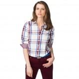 koszula Tommy Hilfiger w kratkę - modne koszule