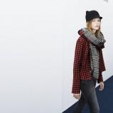 koszula Zara TRF w kratkę - moda na jesień