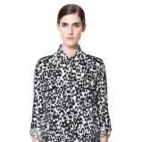 koszula ZARA w panterkę - trendy na lato 2013