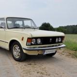 Kremowa legenda - Fiat 125p - Fajnyslub.pl - Olsztyn