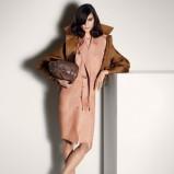 krótka katana Max Mara w kolorze brązowym - moda na wiosnę i lato 2013