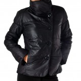 krótka kurtka Grey Wolf w kolorze czarnym - kolekcja na jesień i zimę