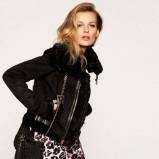 krótka kurtka Juicy Couture w kolorze czarnym - kolekcja świąteczna 2012