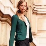 krótka marynarka H&M w kolorze khaki - marynarki dla kobiet