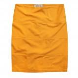 krótka spódnica Diverse w kolorze żółtym - spódnice 2012/13