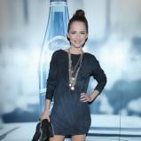 krótka sukienka w kolorze grafitowym - Paulina Sykut - Jeżyna