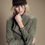 kurteczka Free People w kolorze khaki - moda 2013