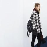 kurteczka Zara TRF w kratkę - jesienna moda