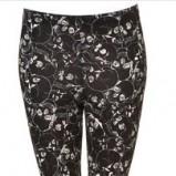 kwieciste legginsy Topshop  - hit jesieni 2012/13