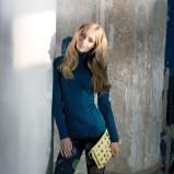 legginsy Gatta w kolorze granatowym - kolekcja jesienno-zimowa