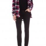 legginsy Pull and Bear w kolorze czarnym - zimowa moda