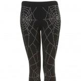 legginsy Topshop w kolorze czarnym - kolekcja dla kobiet 2012/13